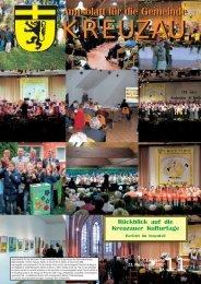 Amtsblatt Nr. 11/2007 vom 23.11.2007 - Gemeinde Kreuzau