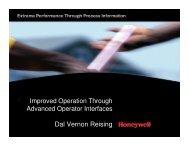 Imrpoved Operations through Advanced Operator ... - ASM Consortium