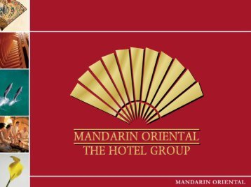 Mandarin Oriental International Limited - Mandarin Oriental Hotel ...
