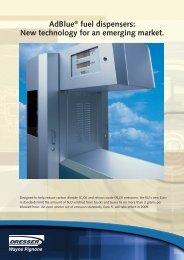 AdBlue® fuel dispensers: New technology for an ... - L.B.L Trading Ltd.