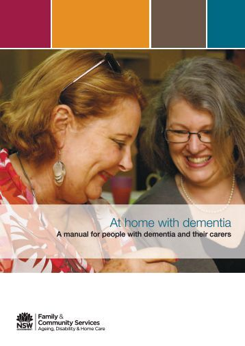 At home with dementia - ADHC - NSW Government