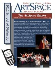 1st Quarter Newsletter - ArtSpace Charter School