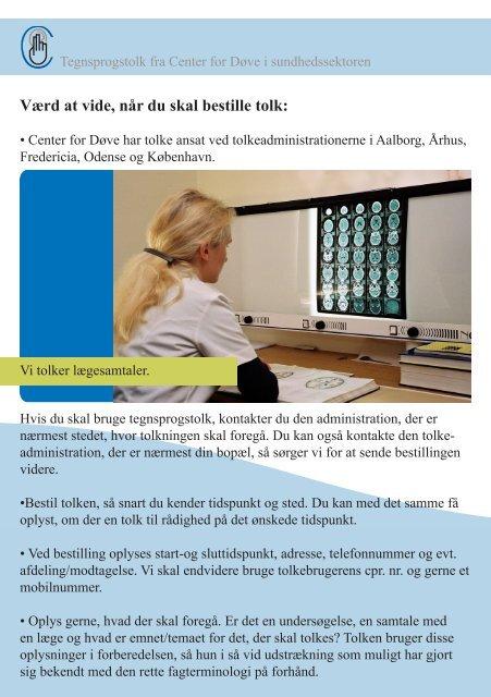 NÃ¥r du skal bruge tolk i sundhedssektoren (pdf