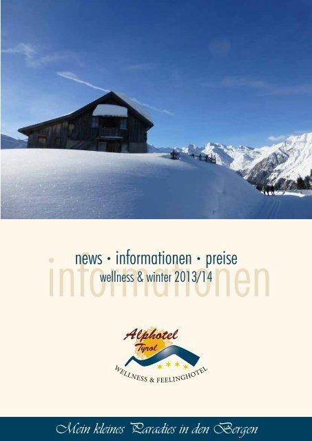 Winterprospekt 2013/2014 - Alphotel Tyrol