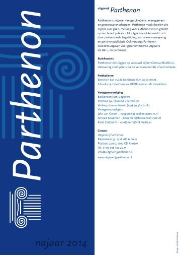 Zijn leven en denken - Uitgeverij Parthenon