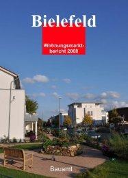 PDF-Datei Wohnungsmarktbericht Bielefeld 2008