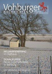 Januar 2014 - Stadt Vohburg