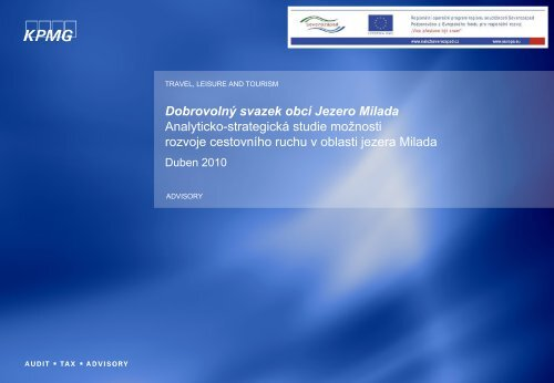 Analyticko-strategická studie v pdf - Svazek obcí Jezero Milada