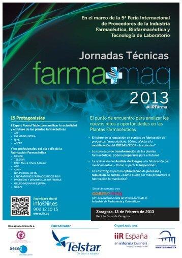 Día 13 Jornada Técnica IIR - Feria de Zaragoza