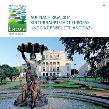AUF NACH RIGA 2014 - KULTURHAUPTSTADT EUROPAS UND ...