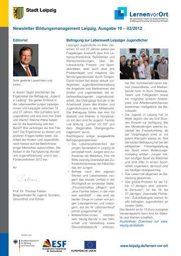 10-03/2012 Newsletter Bildungsmanagement Leipzig