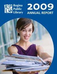 2009 Annual Report - Regina Public Library