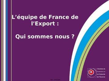 Présentation de la CCI Essonne - Opticsvalley