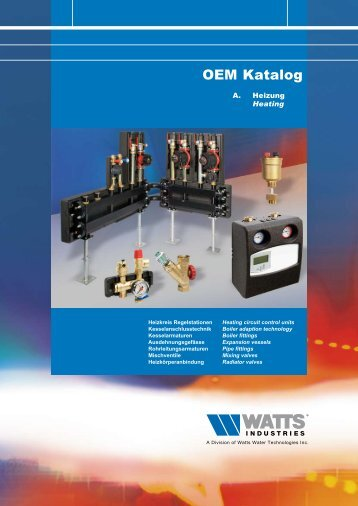 OEM Katalog - Watts Industries