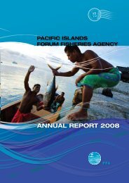ANNUAL REPORT 2008 - Pacific Islands Forum Fisheries Agency