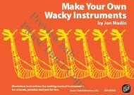 Make Your Own Wacky Instruments - Beatin' Path Publications, LLC