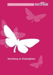 Verteilung an Kindergärten - Kulturfalter