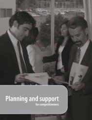 Planning and support