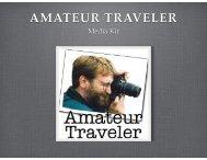 Amateur Traveler Media Kit 2014