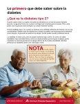 Viviendo con Diabetes tipo 2 - Page 5