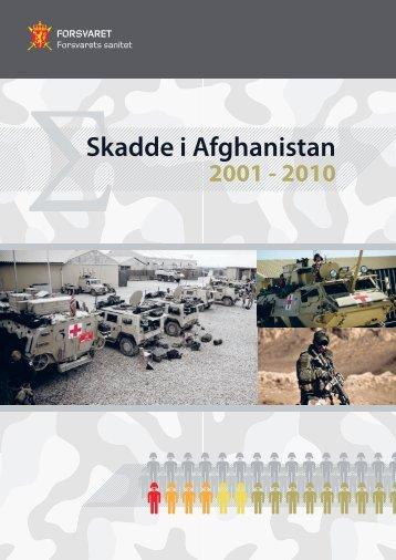 Skadde i Afghanistan - Forsvaret