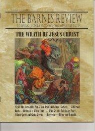 THE WRATH OF JESUSUHRIST