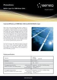 Photovoltaics - Beneq