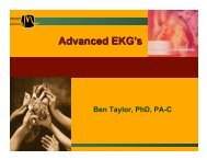 Advanced 12-Lead ECG's (Ben Taylor, PhD, PA-C) - Grand County ...