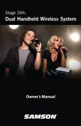 Owner's Manual - SameDayMusic.com
