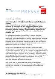 Voller Kostenersatz für Bayerns Schulen - Angelika Weikert, MdL