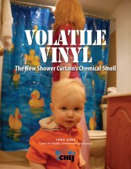 The New Shower Curtain's Chemical Smell - Washington Toxics ...