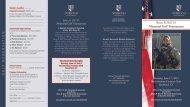 the downloadable tournament brochure - Norwich University