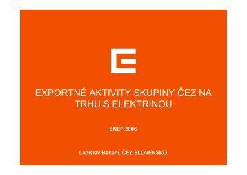 ČR - ENEF 2012