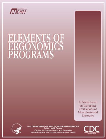 Elements of Ergonomics Programs - Centers for Disease Control ...