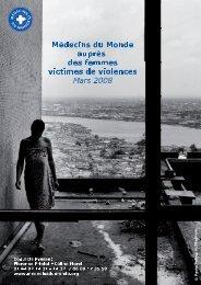 Mars 2008 - Médecins du Monde