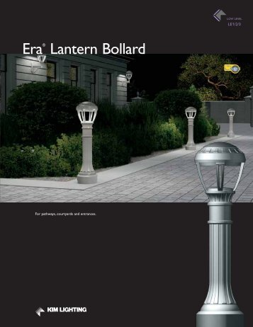 Era® Lantern Bollard - Kim Lighting