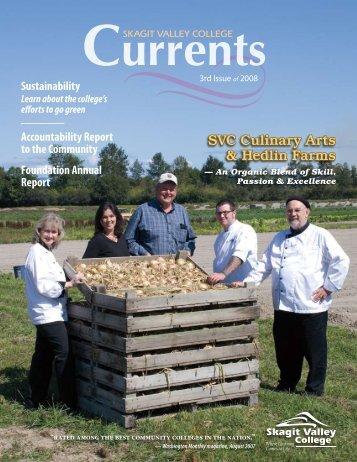 SVC Culinary Arts & Hedlin Farms - Skagit Valley College