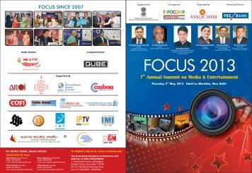 FOCUS Brochure New - The Associated Chambers of Commerce ...