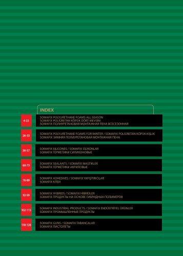 118-120 102-115 92-99 76-89 26-33 SOMAFIX POLYURETHANE ...
