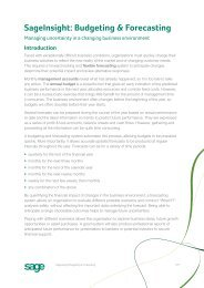 SageInsight: Budgeting & Forecasting - AccountingWEB