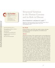 Structural Variation in the Human Genome and its Role in Disease