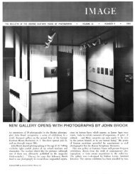 the bulletin of the george eastman house of photography
