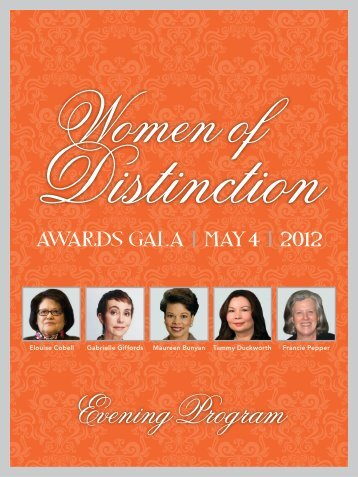 Download the Awards Gala Program - YWCA USA