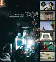 2008 Annual Report - George Eastman House