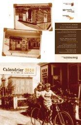 Calendrier 2010 - MRC Lotbinière