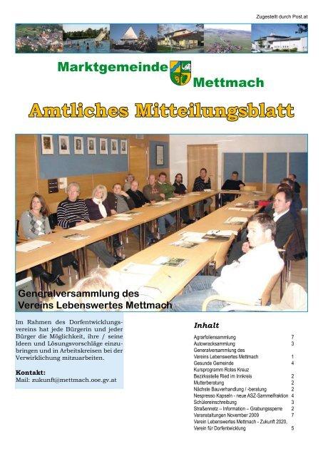 Mettmach - Zentrum - Gemeinde Mettmach
