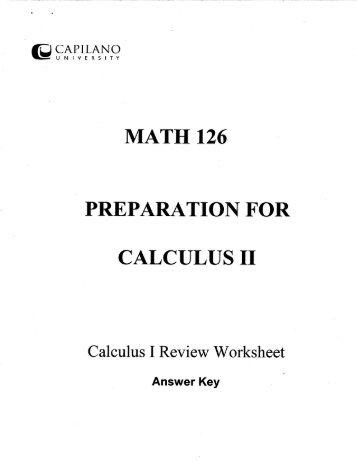 Calculus Magazines