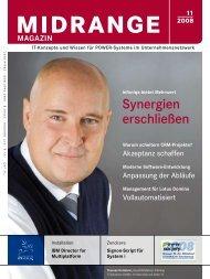 Synergien erschließen - Midrange Magazin