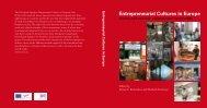 Entrepreneurial Cultures in Europe - EMZ