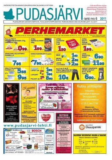 Pudasjärvi-lehti nro 6 9.2.2011 - Pudasjärvi-lehti ja VKK-Media Oy